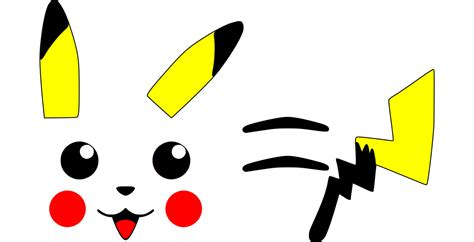 Pikachu Tail Tail Clipart Pikachu Pencil And In Color Tail Clipart