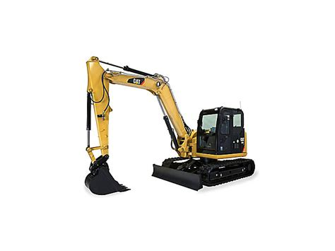 cat  cr mini hydraulic excavator  swing boom caterpillar