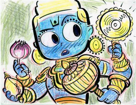 皮克斯短片动画《桑杰的超级战队》首曝预告 印度小男孩的冥想世界_动漫星空