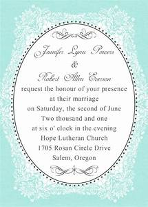 cheap vintage tiffany blue wedding invitations EWI336 as ...