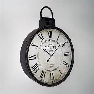 Riesen Wanduhr Xxl : riesen vintage antike designer xxl wanduhr taschenuhr caja 50x65cm aus metall ebay ~ Eleganceandgraceweddings.com Haus und Dekorationen
