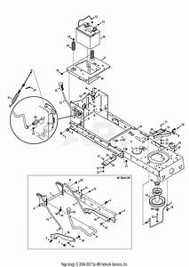 Troy Bilt 13bx79kt211 Horse  2013  Parts Diagram For Frame  U0026 Pto Lift