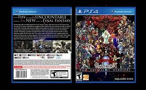 PS4 Final Fantasy Dissidia The Crystallis Warriors