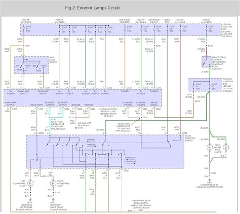 1998 1999 Lincoln Town Car Wiring Diagram by No Lights Electrical Problem 1999 Lincoln Town Car