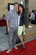 Mark Duplass and wife Katie Aselton at the Los Angeles ...