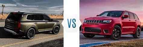 kia jeep 2020 2020 kia telluride vs jeep grand raceway kia of