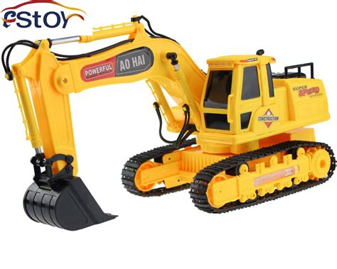 Free Shipping New 8 Channel High Simulation Rc Digger,r/c