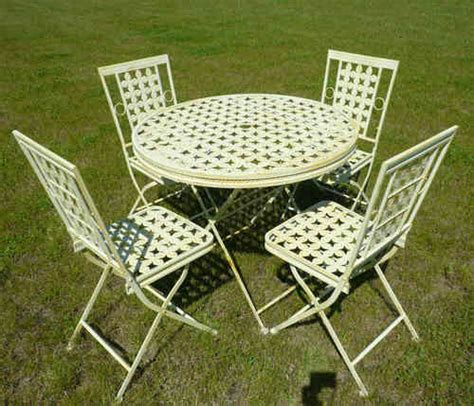 wrought iron garden furniture tables chairs