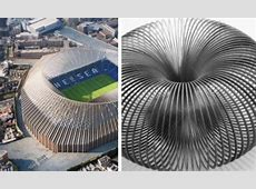 New Chelsea stadium design compared to a slinky, a toilet