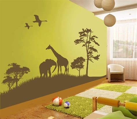 wall decal decorating ideas  childrens rooms