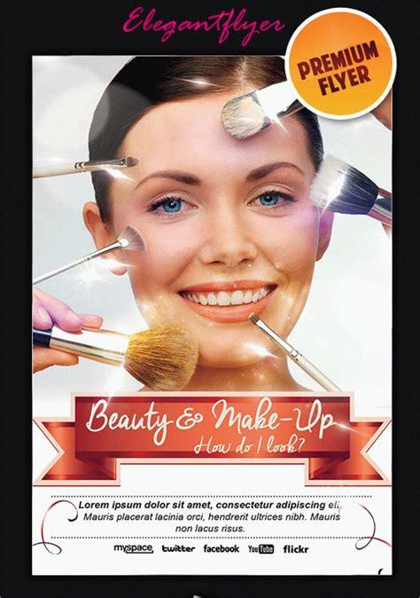 Makeup Artist Flyers Templates Costumepartyrun