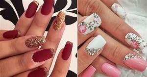 10+ Easy and Gorgeous Wedding Nail Art Design Ideas for ...