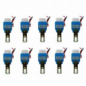 10pcs Auto On Off Photocell Street Light Photoswitch
