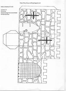 medieval castle print out and make linda39s classroom With castle cut out template