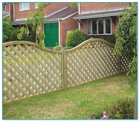Metal Trellis Fence Panels by Garden Trellis Fencing Panels
