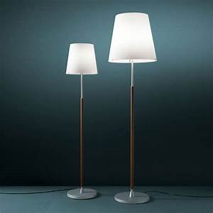 2198 lighting floor lamp with dimmer satin aluminium With white floor lamp with dimmer