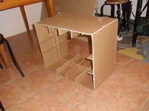 meuble en carton debuter et faire son premier meuble With comment fabriquer un meuble en carton
