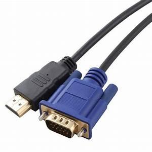 Hdmi To Vga Cable 15 Pin D