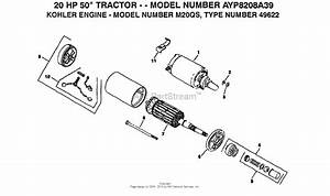 Ayp  Electrolux Ayp8208a39  1993  Parts Diagram For Kohler