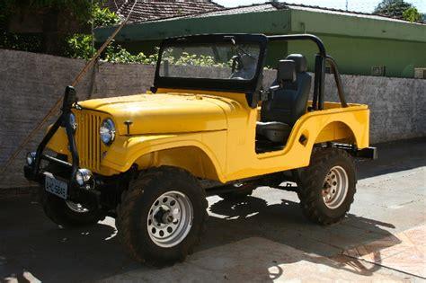 vendo jeep cj5 1958 amarelo todo reformado