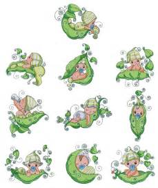 Sweet Pea Baby Embroidery Designs Free Downloads