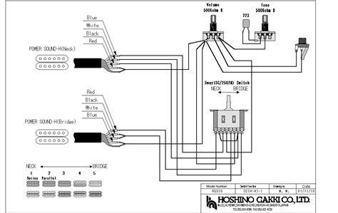 ibanez dual humbucker wiring diagram free wiring diagram for you