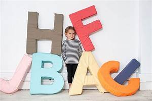 alphabet letter diy With jumbo foam letters