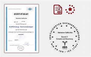Abtretungserklärung Rechnung : zertifikat kraftfahrzeug sachverstaendiger kfz sachverst ndigenb ro ~ Themetempest.com Abrechnung
