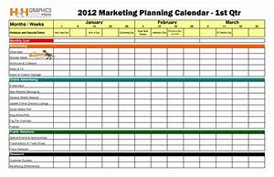 publicity plan template - marketing calendar template cyberuse