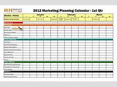 Marketing Calendar Template cyberuse