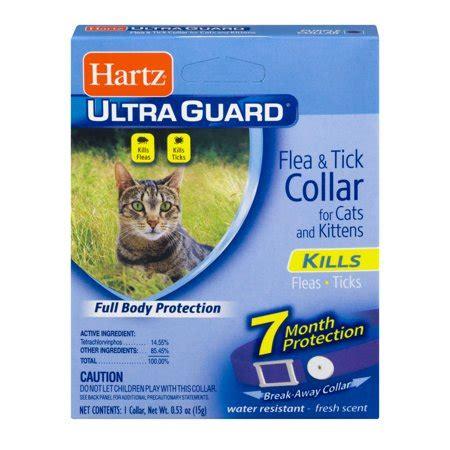hartz ultraguard flea tick collar  cats kittens