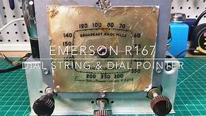 Emerson R167 - Dial String Instructions