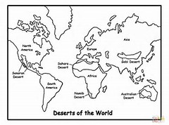 HD Wallpapers 7 Continents Coloring Pages