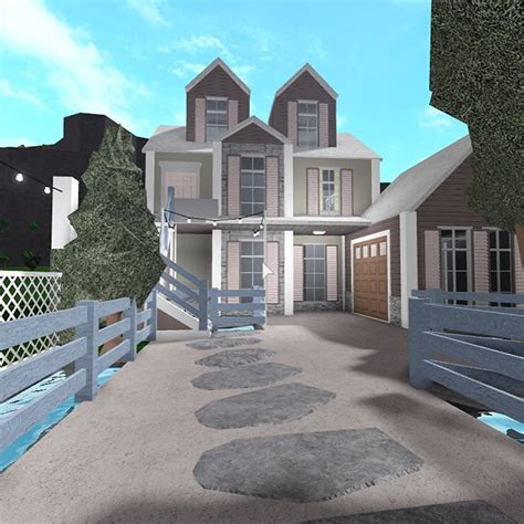 cute bloxburg houses google search winter house exterior  story house design house layouts
