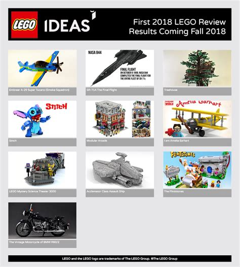 lego ideas 2018 lego ideas 10 projects qualify for the 2018 lego ideas review