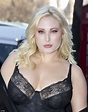 Hayley Hasselhoff rocks black lace dress at LFW protest ...