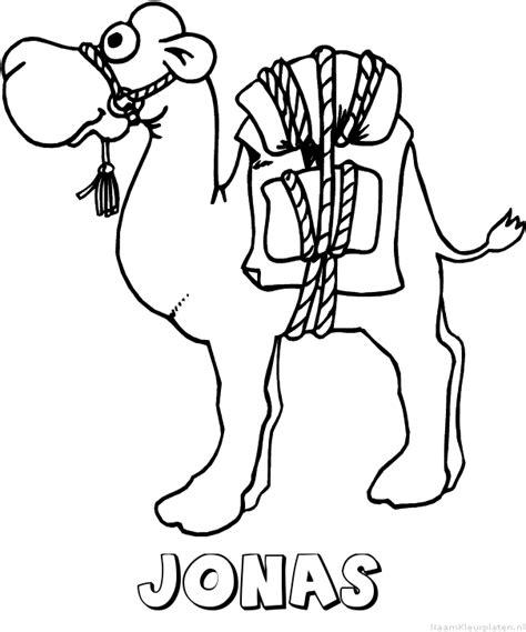 Kleurplaat Jona by Jonas Naam Kleurplaten