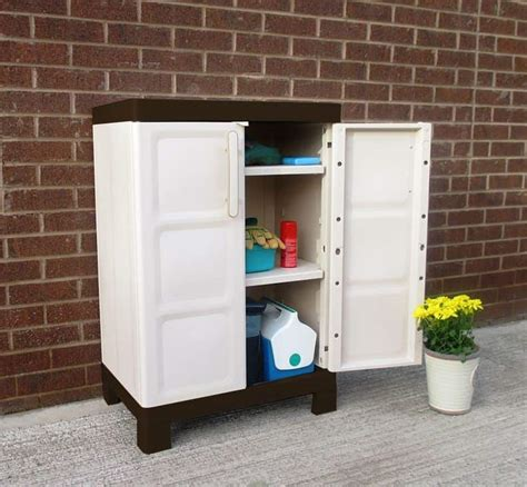 Patio Storage Cabinet by Outdoor Storage Cabinets Who Has The Best
