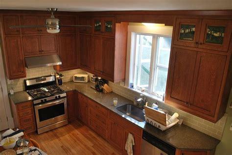 interior designer kitchens shaker quartersawn oak 1908 foursquare kitchen remodel 1908