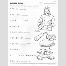 15 Best Images Of Nuclear Chemistry Worksheet Answer Key  Nuclear Decay Worksheet Answer Key