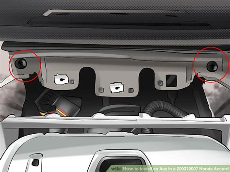 Installing Auxiliary In Car by How To Install An Aux In A 2003 2007 Honda Accord 13 Steps