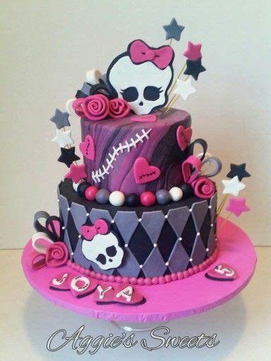 monster high birthday cake aggies sweets