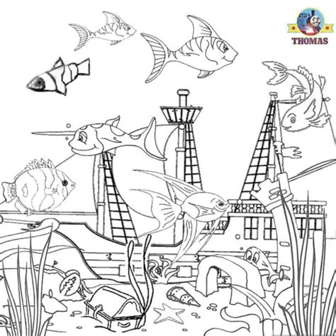 coloring pages    sea printable coloring