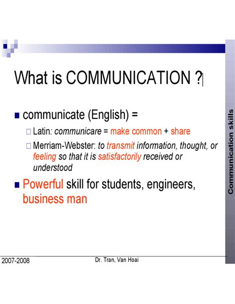 talk communication skills