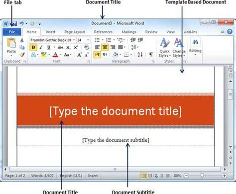 templates  word
