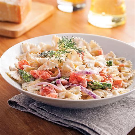 saumon cuisine farfalles au saumon fumé et asperges recettes cuisine
