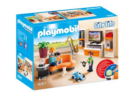 living room 9267 playmobil