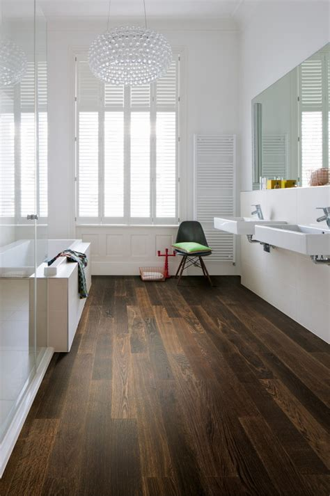 Holzboden Im Badezimmer by So Klappt Es Mit Dem Holzboden Im Bad Holz Vom Fach