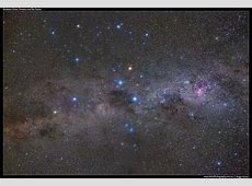 Southern Sky Southern Cross, Pointers and Eta Carina