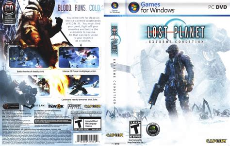 Lost Planet Extreme Condition Playstation Box